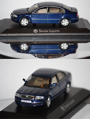 Norev Skoda Superb 2004 Bleu 1/43 840612