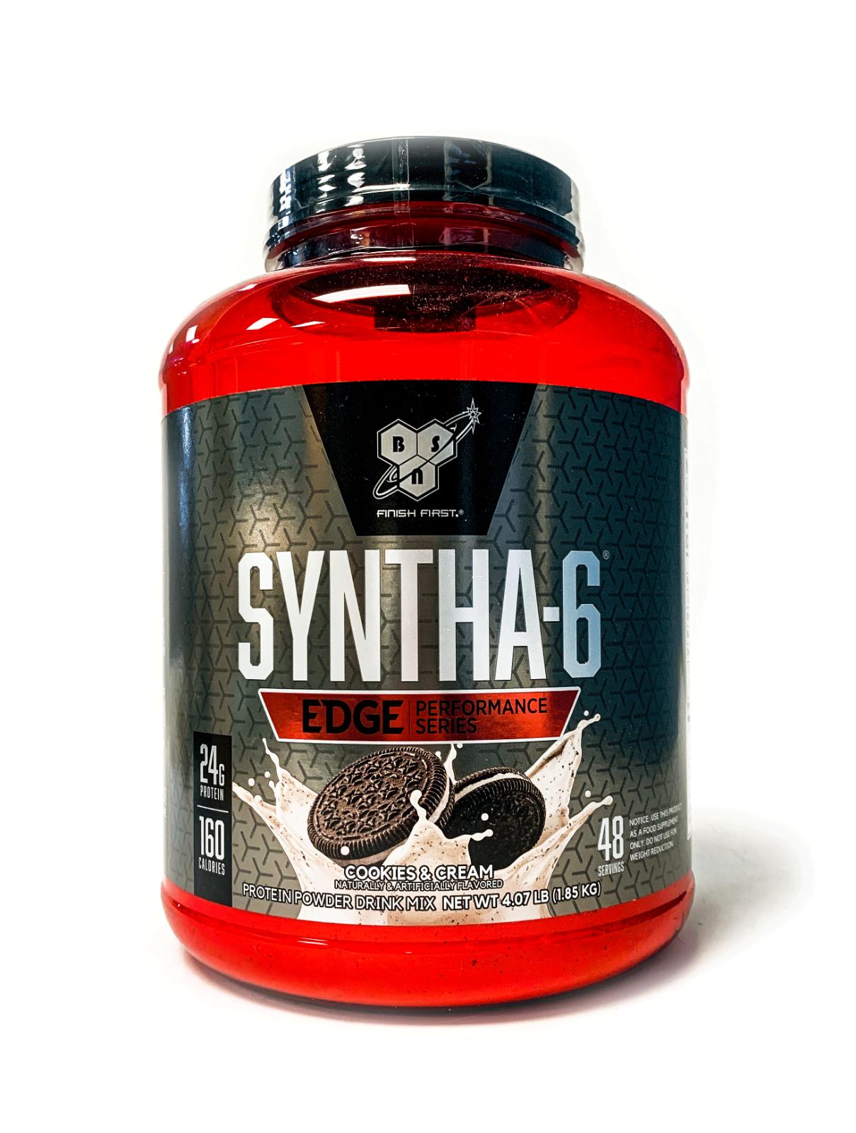 BSN Syntha 6 EDGE 4 LB Fast & Slow Digesting Protein Powder