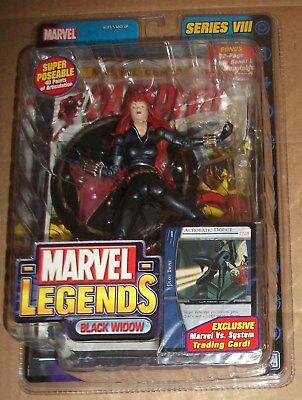 Marvel Legends Series VIII (eight, 8) Black Widow ToyBiz New!