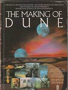 THE MAKING OF DUNE Ed Naha ~ SC 1984 Over 100 Photos Perth Region Preview