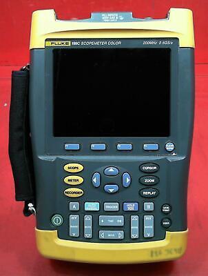 Fluke 199c 200mhz 2ch 2.5gsas Scopemeter Dm8470106