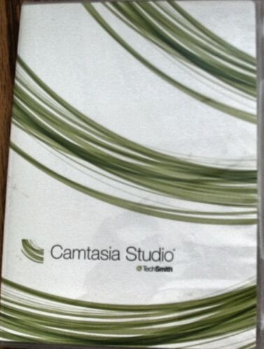 TechSmith Camtasia Studio for Windows in mint condition + software key and guide