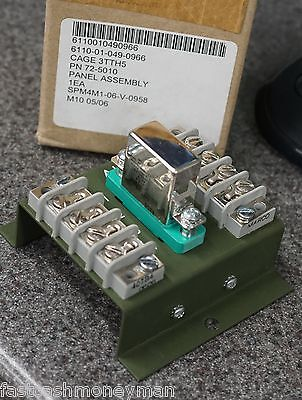 Military Mep 002a 003a Diesel Generator Relay Socket Board 72-5010 300-0752