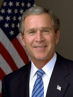 George W Bush 8X10 Glossy Photo Picture Image  2