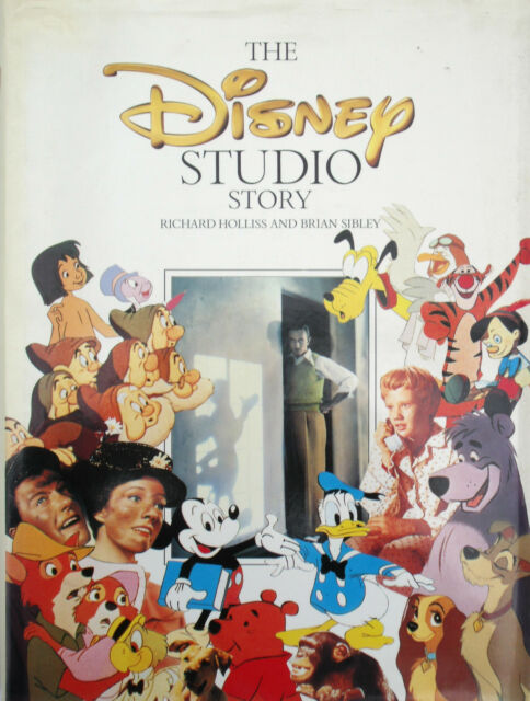 Disney Studio Story by Richard Holliss (Hardback, 1988)