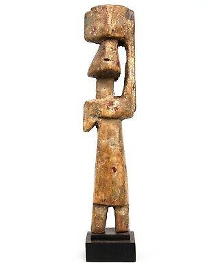 Art African Arts First Tribal - Fetish Adan Aklama on base - 20 CMS