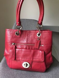 Like New Coach Leather Bag