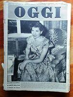 Rivista Oggi 1950 N°38 Malaparte Hearst Fusine -  - ebay.it