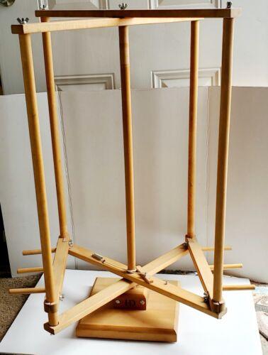 Harrisville Designs 20 Yard Vertical Warping Reel With Brake New Weave Knit Spin