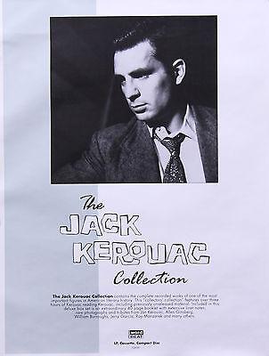 Jack Kerouac 1992 The Jack Kerouac Collection Promo Poster