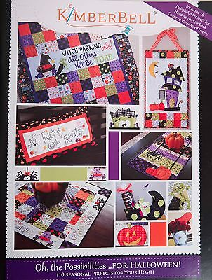 KIMBERBELL OH THE POSSIBILITIES FOR HALLOWEEN PATTERN BOOK, From Kimberbell NEW - Kimberbell Halloween