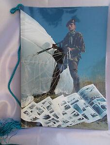 calendario-SCUOLA-MILITARE-DI-PARACADUTISMO-1985-con-auguri-del-gen-Pino-Italia