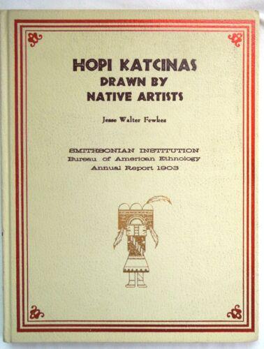 HOPI KATCINAS DRAWN BY NATIVE ARTISTS *Fewkes *Kachinas*BAE 1969 Ed* FREE SHIP