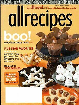 Halloween Recipes Pumpkin Soup (allrecipes Sept/Oct 2015 Halloween Recipes Soups Pumpkin Soup, Chili,)
