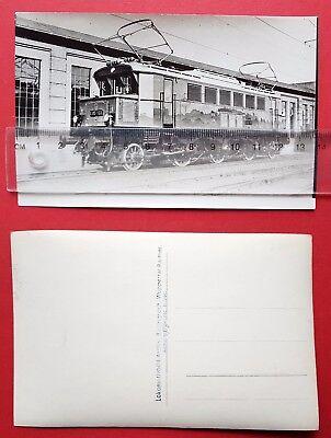 Eisenbahn Foto AK von Bellingrodt DR E-Lok E05 103      ( 24718