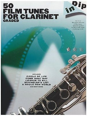 50 Film Tunes For Clarinet Dip In Graded Sheet Music Book S168