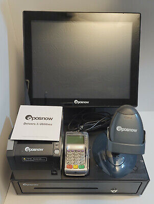 Epos Now - Pos System Touchscreen Scanner Printer Cc Terminal Cashdrawer