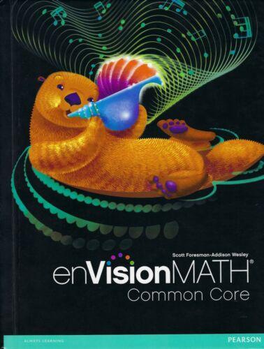 3rd Grade - Pearson enVision Math - Student Textbook