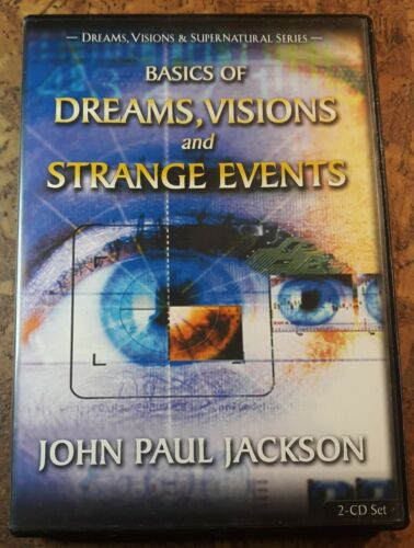 2 CD Set Basics of Dreams Visions and Strange Events John Paul Jackson