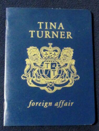 Tina Turner - Foreign Affair Passport Edition CD 1989 Capitol USA - NEW