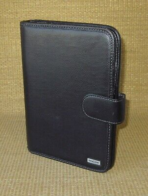 Classic Franklin Covey Black Sim. Leather 1 Rings Open Plannerbinder