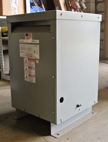 Federal Pacific 7.5 KVA 3 phase 480 to 480Y/277v Transformer USED