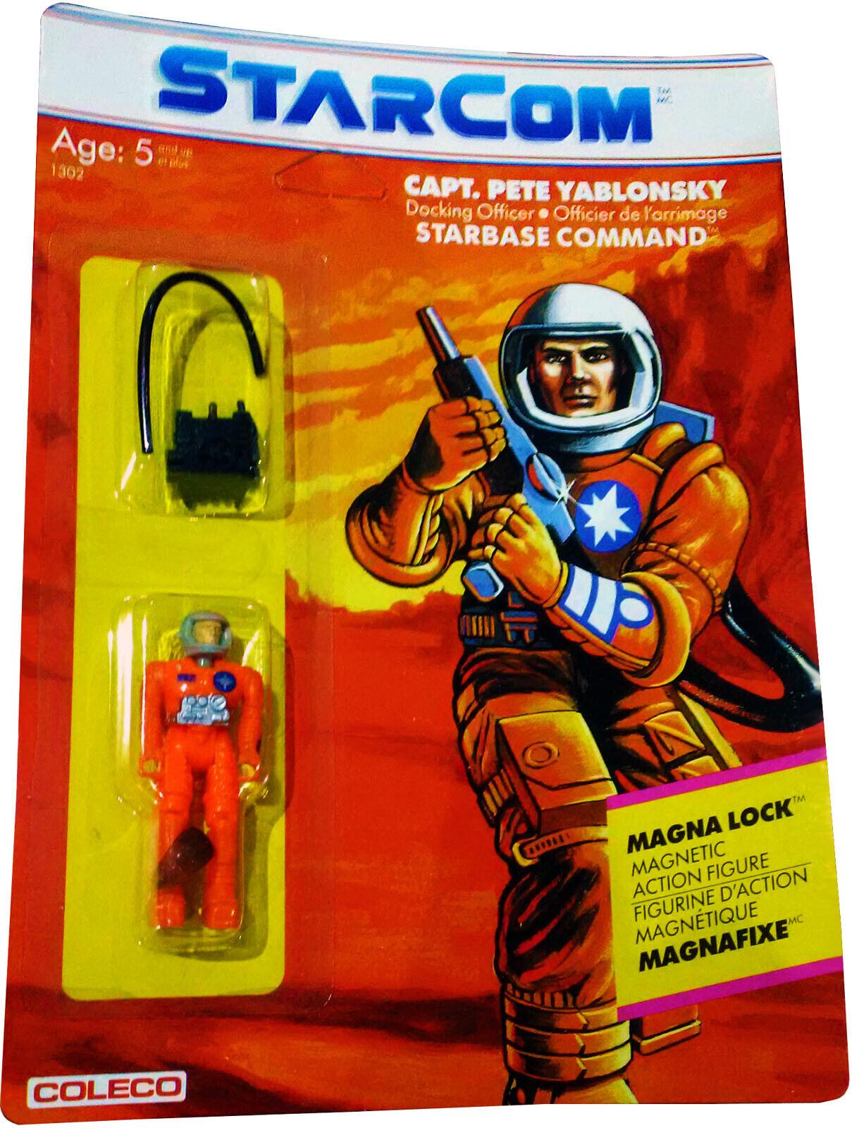 Pete Yablonsky coleco STARCOM 1986 figure Capt