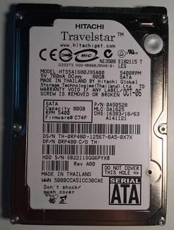 """Hitachi 80GB 5400rpm 2.5"""" HDD Kings Langley Blacktown Area Preview"""