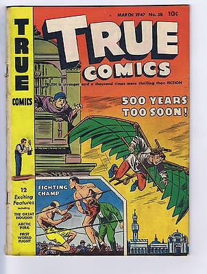 True Comics #58 True Comics Pub. 1947