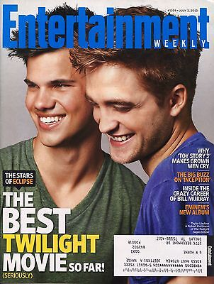 Robert Pattinson Taylor Lautner Entertainment Weekly Magazine July 2  2010 C 3 2