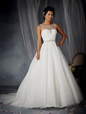 NWT Cinderella's bridal gown, Alfred Angelo 244 Size 10 IVORY/SILVER Ball gown - Cinderella Bridals