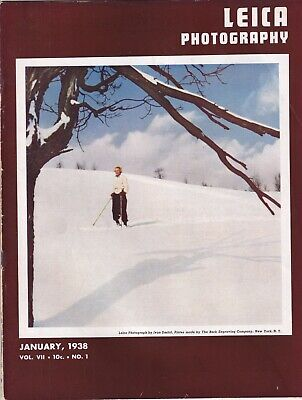 Leica Photography Mag Picture Continuity Window Shopping January 1938 082419nonr