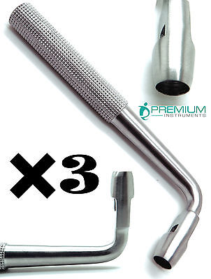 3 Dental Tissue Punch 6mm Angled L Shape Premium Surgical Instruments