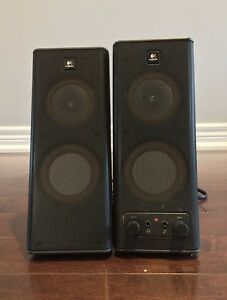 Logictech Speakers (High Quality Sound) Works with anything!