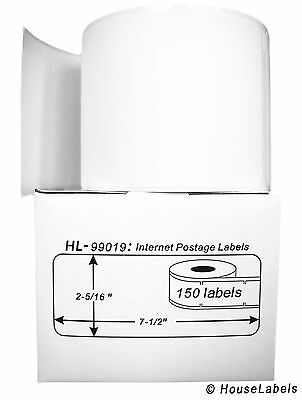 8 Rolls Of 150 1-part Ebay Paypal Postage Labels For Dymo Labelwriters 99019