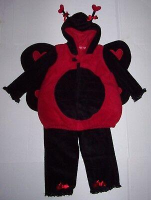 OLD NAVY 2 pc LADYBUG Lady Bug COSTUME 2T-3T 2 3 Halloween](Old Navy Ladybug Costume)