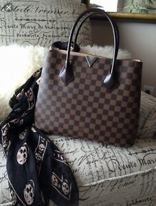 Louis Vuitton (LV) Kensington - Damier Ebene