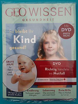 Geo Wissen Gesundheit Nr.3/2016 mit DVD so bleibt ihr Kind gesund! ungel. 1A TOP