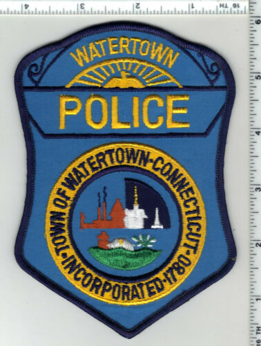 Watertown Police (Connecticut) 3rd Issue Shoulder Patch