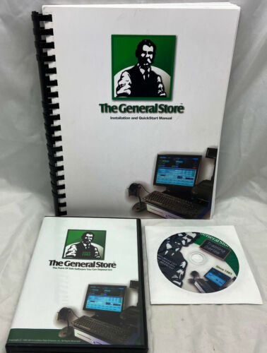 The General Store Point of Sale POS Software Version 10 w/Pervasive Workgroup