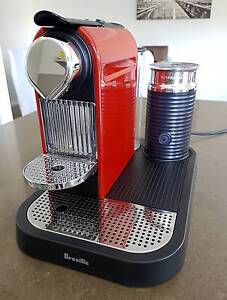 Nespresso Breville Citiz and Milk Capsule Coffee Machine Red Sydney City Inner Sydney Preview