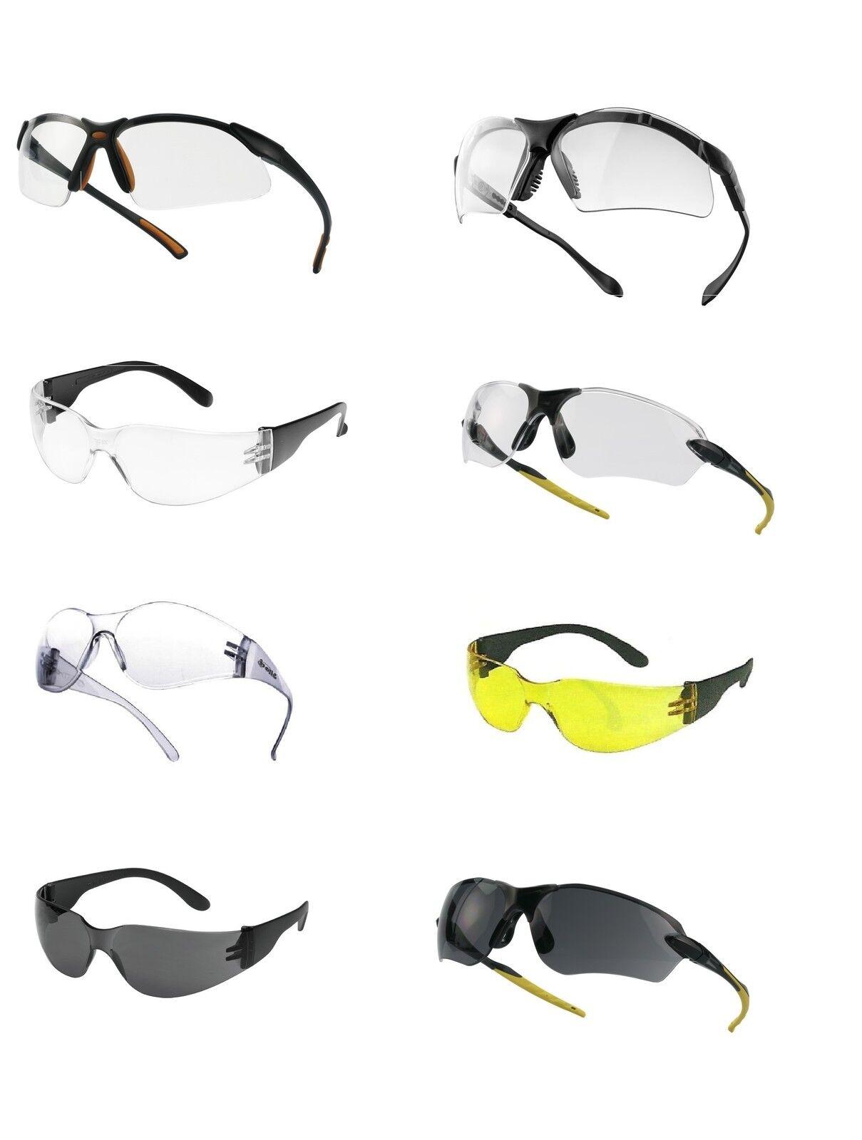 Sportliche Schutzbrille - Sportbrille - Fahrradbrille - Radbrille