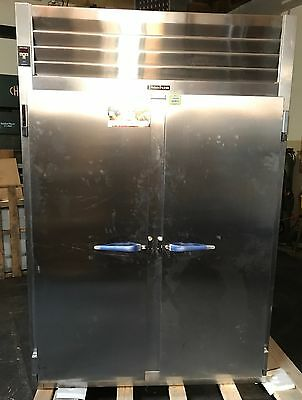 Traulsen Rht232nut-fhs Stainless Steel 46 Cu. Ft. Two Section Refrigerator