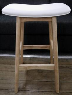 New Replica Allegra Timber Scandi Kitchen Counter Bar Stools