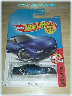 2017 Hot Wheels, 1995 Mazda RX-7 (#336/365) Then And Now (#3/10)