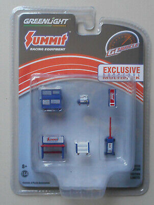 SUMMIT RACING MUSCLE SHOP TOOLS CHEST JACK WORK BENCH GREENLIGHT -