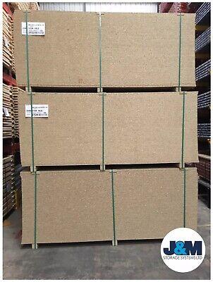 NEW Chipboard Sheet 2440mm x 1220mm x 18mm/Racking Shelving Level JOB LOT OF 10