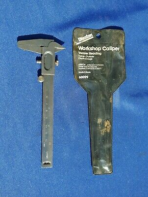Disston Workshop Caliper 60099 Inside Outside Depth Gauge Sandvik Company