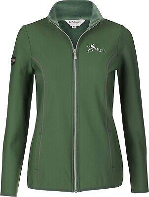 Women's My LeMieux Madrisa Fleece Jacket - Hunter Green NWT X-Small