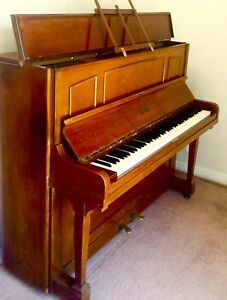 B. Squire & Son - RARE! 1920s - early 30s Upright Piano ANTIQUE